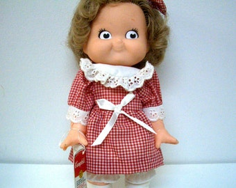Campell's Kid Girl Doll 1988 Special Edition