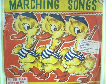 Vintage Marching Songs Record