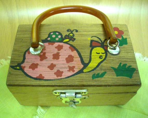 Vintage Gary Gail Children's Box Purse