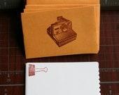 Retro/Vintage Polaroid Camera Mini Envelopes & Cards