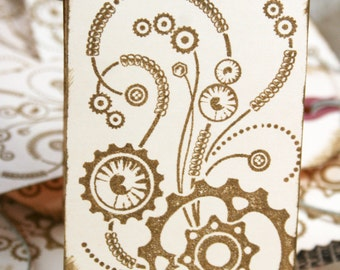 Everyday Steampunk Gift Tags