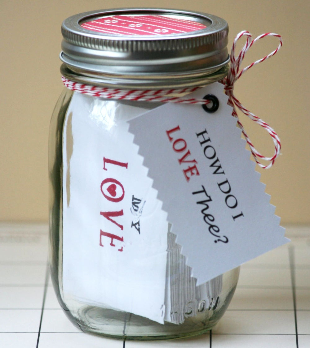 love jar 31 days of love custom quotes by theorangesparrow