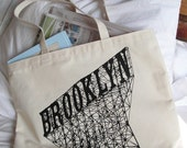 LIVE POULTRY - Brooklyn Shoulder Tote Bag - 100 percent cotton