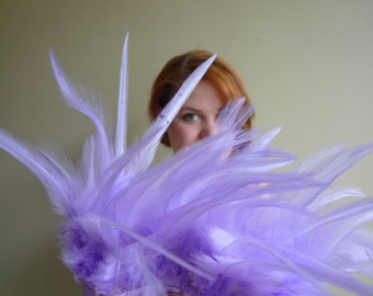 COQUE SADDLE / Wisteria, Lavender, Light Purple  / 110