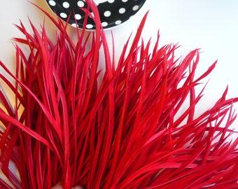 GOOSE BIOT Feathers , Flamenco  Red / 715 / BOGO