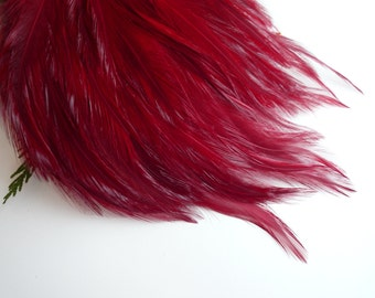 FEATHER PAD  Flamenco Red  / 107