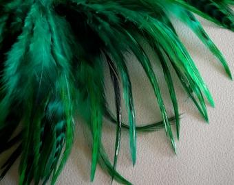 COUTURE Chinchilla Saddle /  Emerald Green   /  2050