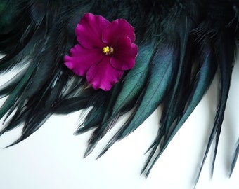 VOGUE COQUE SADDLE / Iridescent Black Swan /  100 / Rollback