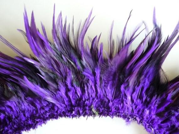 COQUE SADDLE FEATHER  Purple / 472