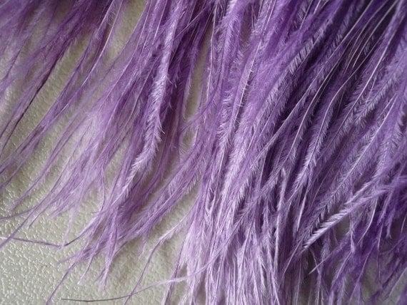 VOGUE OSTRICH Feather Fringe / Lavender Purple / 361