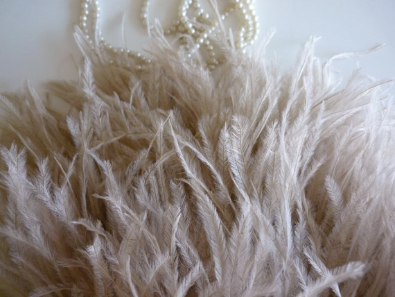VOGUE OSTRICH Feather Fringe / True Nude / 377