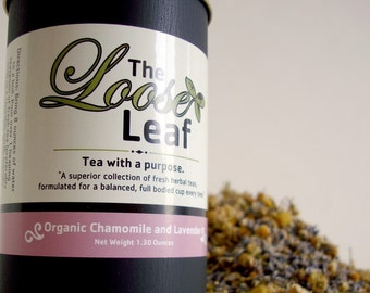 CHAMOMILE/LAVENDER Tea 50 cups. RELAX and soothe your tummy.