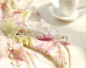Bedroom Art With Tea The Next Morning Pink Photograph Feminine Girly Decor Romance Dreamy Fine Art