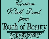 Custom Wall Decal Listing for KATIE