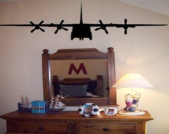 Wall Decals Military Plane Wall Decal/Wall Sticker