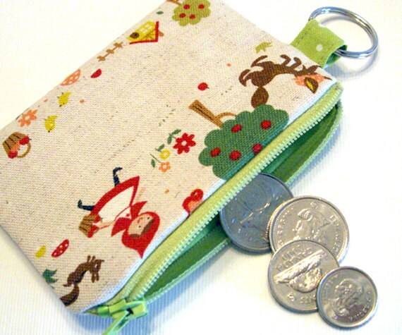 Little red riding hood  - coin pouch