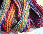 crayon box handplied bulky yarn
