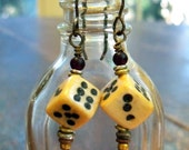 Quirky Carved Dice Dangles
