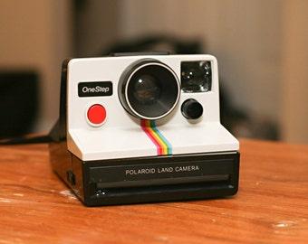 Vintage Polaroid One Step SX-70 Camera