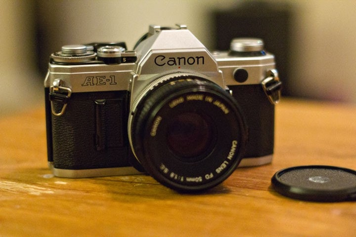 Vintage Film Camera Vintage Canon Ae-1 35mm Film