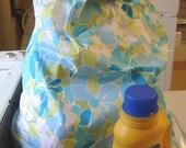 Fresh Floral Super Laundry Bag