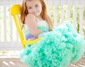 Sweetheart Pettiskirt by Dreamspun - Carribean Green