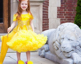 Belle Princess Pettiskirt Halloween Costume by Dreamspun