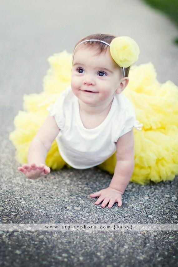 Sweetheart Pettiskirt by Dreamspun - Sunshine Yellow - Petti Skirt Tutu