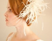 RESERVED for LUCY SALE 70% off Whimsy Bridal Fascinator