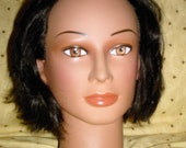 Cosmetology Head and Hat Model\/ Mannequin