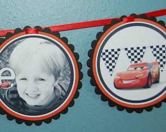 Lightening McQueen Cars Banner