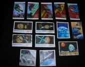 Postage Stamps -- Space, Set 2