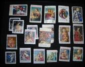 Postage Stamps -- Christmas, Set 2