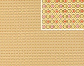 1 yard plus available of Amy Butler Happy Dots in Linen Fabric