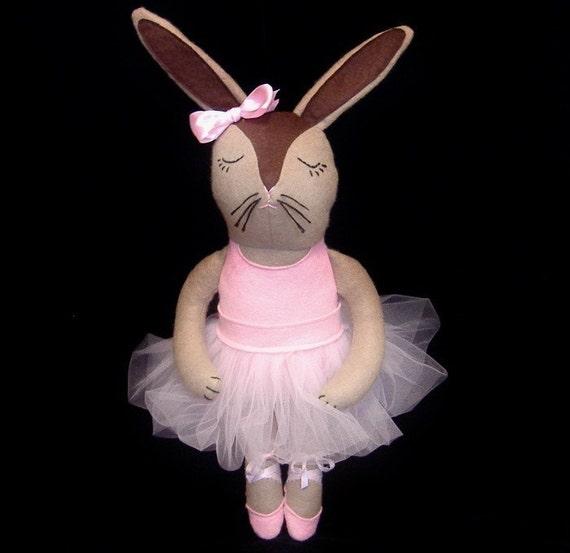 Co-Co the Ballerina Bunny Doll PDF Pattern