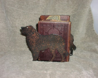 Doggy Bookends - Metal art