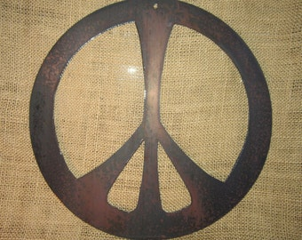 Peace  - Metal art