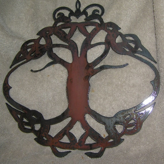 Celtic Tree of Life - Metal art