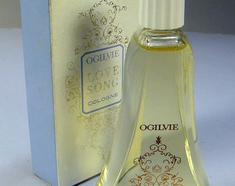 1950s Cologne Love Song Ogilvie by Dorothy Gray 3 FL OZ Original box