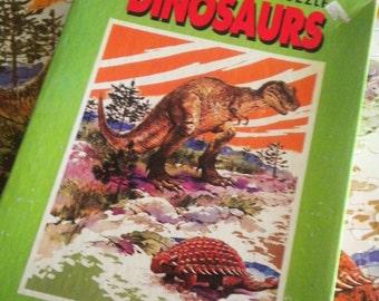 Complete 1975 DInosaur Jigsaw Puzzle - Tyrannosaurus Rex
