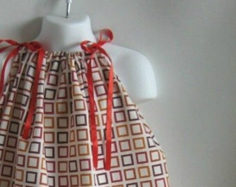 Pillowcase Dress  / Top. Size 18 Month, 24 Month, 2T, 3T, 4T. Length 18 inches.