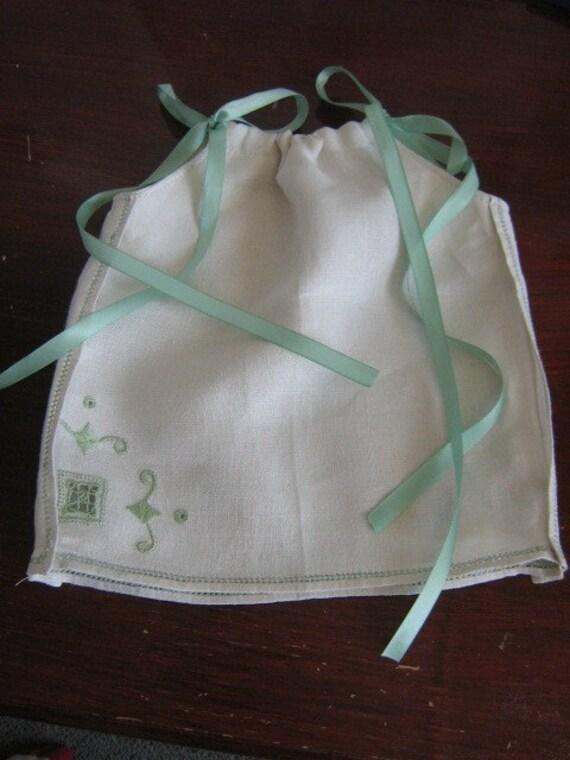Preemie Baby Pillowcase Dress. Preemie Size Newborn, 6 Month. Length 10 inches.