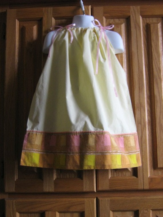 Native Skies Upcycled Pillowcase Dress Size 5T 4 5 SUMMER SALE BUY 2 GET THIRD FREE
