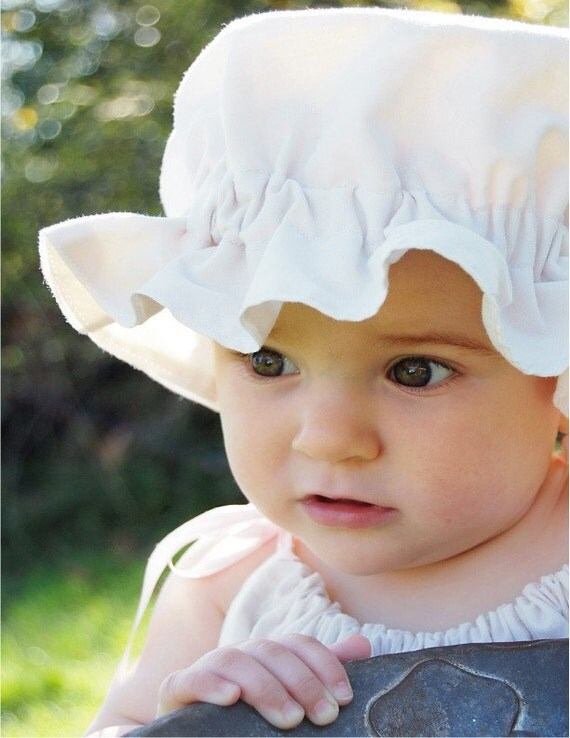 Whisper Mix and Match Baby Bonnet Size Large (18 to 24 Months)