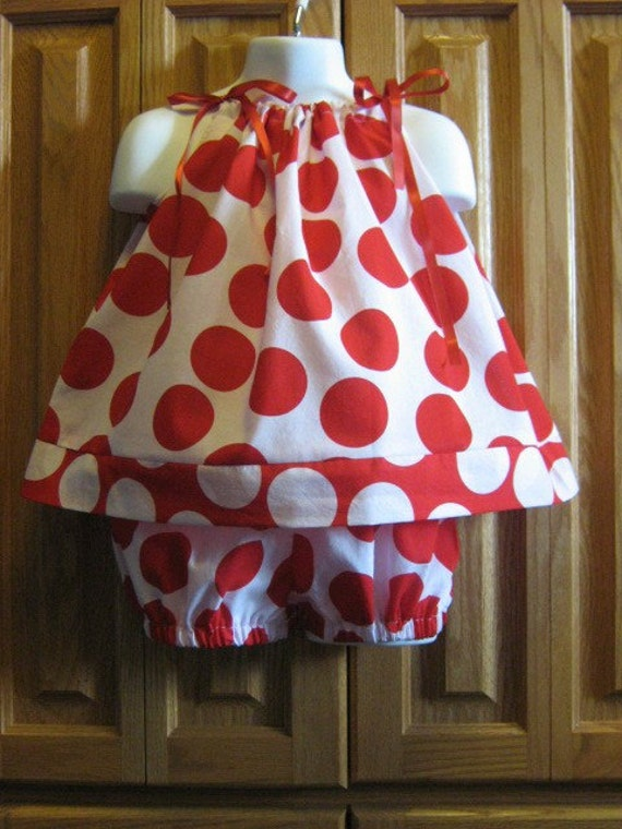 Pillowcase Dress and Matching Bloomers. Double The Fun. Size 18 to 24 Month SUMMER SALE BUY 2 GET 3RD FREE