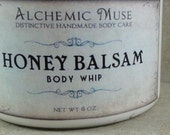 Honey Balsam - Body Whip - Honey Citrus, Toffee, Frankincense, Myrrh