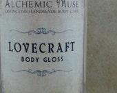 Lovecraft - Body Gloss - Pumpkin, Lavender, Cream, Spice