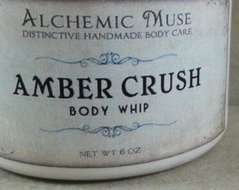 Amber Crush - Body Whip - Amber Resins, Patchouli, Bourbon Vanilla