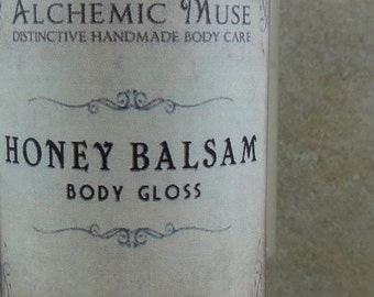 Honey Balsam - Body Gloss - Honey Citrus, Toffee, Frankincense, Myrrh