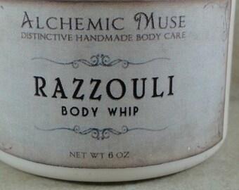 Razzouli - Body Whip - Raspberry Puree, Ruby Red Grapefruit, Dark Patchouli